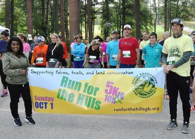 2017 Run for the Hills 10 k Start