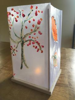 We'll be making Tree Lanterns this week at the Great Barrington Farmer's Market.