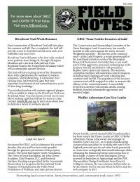 GBLC field notes newsletter 2020